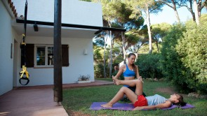 Pilates mit Carolina Torres in Cala Morell