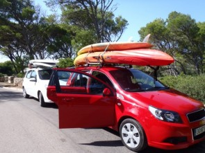 Kayak, rent a car with AMBERCARSMENORCA