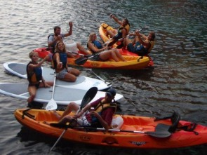 kayak excursion with Surf ´n Sail Menorca